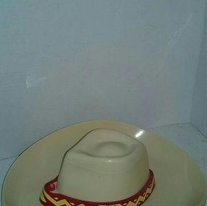 289a1e96be4ea Other - Original Cowboy hat Chip   Salsa Bowl Plays Song